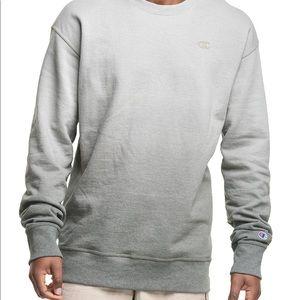 New Champion Army sweatshirt Fleece Ombre Crew